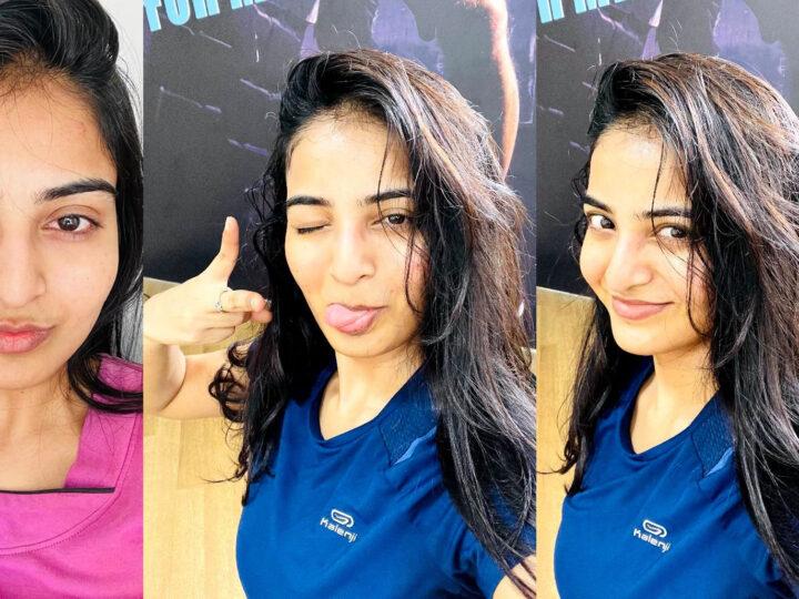 Photos: కంటి చూపుతో కుర్రాళ్ళను పడగొడుతున్న అనన్య.